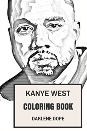 Amazon.com: Kanye West Coloring Book: BLack Jesus and Rapper ...