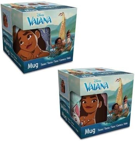 1 Mug Taza cerámica Disney Vaiana Moana 237 ML Caja Regalo Desayuno niños: Amazon.es: Hogar