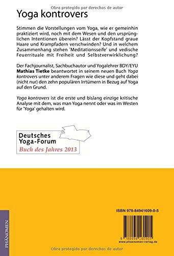 Yoga kontrovers: 10 populäre Irrtümer in Bezug auf Yoga: Amazon.de ...