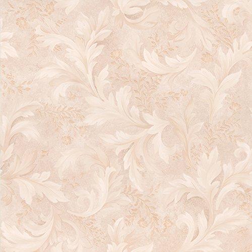 Brewster 347-41628 Olivias Baroque Scroll Wallpaper, -