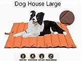 Elite Oversize Waterproof Pet Blanket Bed Cover for Cat&Dog-Outdoor Cooling Pet Bed for Large Dog or Puppy orange