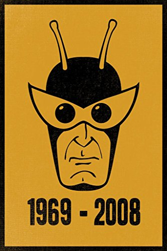 The Henchman 1969 to 2008 Gold And Black Poster 24x36 inch