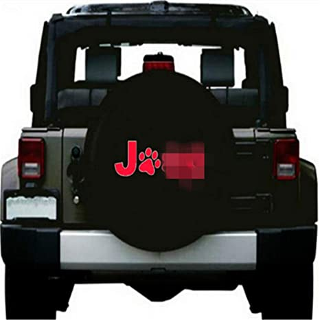 Amazon Com Xiao Tianlong 17inch Spare Tire Cover For Jeep Wrangler