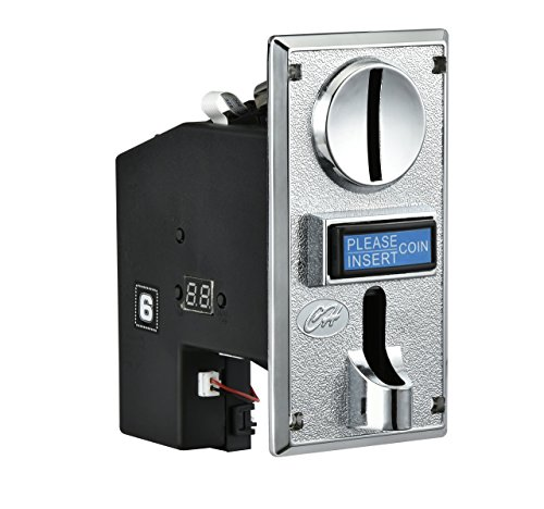 Price comparison product image [Sintron] CH-923 Multi Coin Mech Acceptor Coin Selector for Vending Machine, Coin Laundromat, Massage Chair, Arcade Jamma Video Game Etc...accept 3 kinds of coins