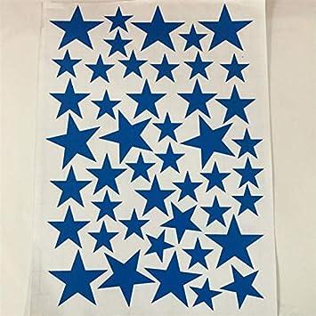 45pcs 3-5cm Cartoon Starry Wall Stickers para niños Habitaciones ...
