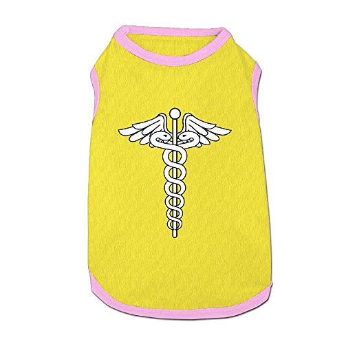 Caduceus Staff Of Hermes Puppy Dogs Shirts Costume Pets Clothing Warm Vest T-shirt -