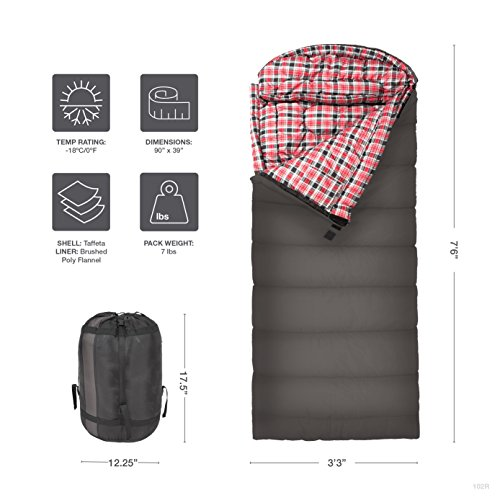 TETON-Sports-Celsius-XXL-18C0F-Sleeping-Bag