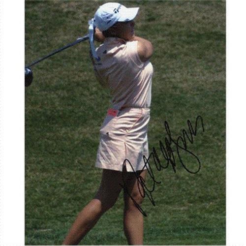 - Natalie Gulbis Autographed 8x10 Photo