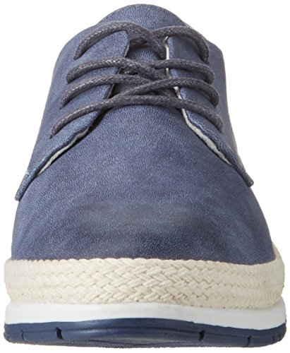 Azul Cordones Oxford Marco de Comb 890 Mujer Navy Tozzi para 23603 Zapatos FIwp8wxC