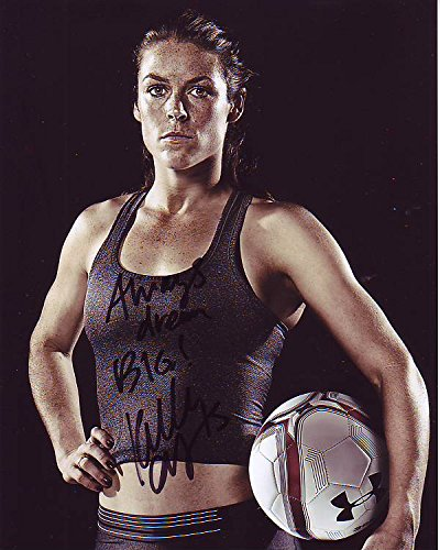 Kelley Signed - KELLEY O'HARA signed autographed SOCCER photo GREAT CONTENT
