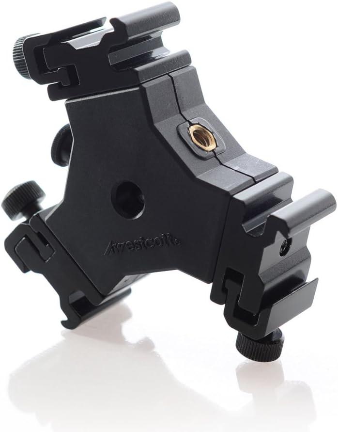 Black Westcott 2223  Triple Threat Shoe Mount Adapter
