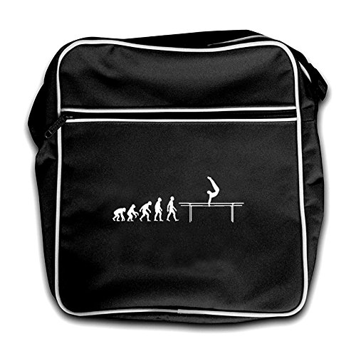 Of Flight Evolution Man Black Bars Retro Bag Parallel Red 4daxdq