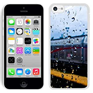 New Beautiful Custom Designed Cover Case For iPhone 5C With Rainy Train Window (2) Phone Case