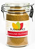 Ground Nutmeg : Pure Spice Blend Seasoning, No Additives, Holiday Spice : Kosher (2oz.)