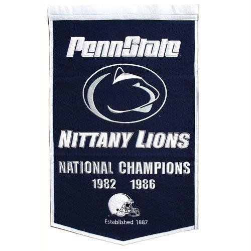Penn State Nittany Lions - Dynasty Banners (Pennants) by Generic