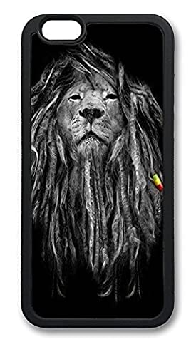 Rasta Lion Phone Case Custom Well-designed Hard Case Cover Protector For Iphone 5 5s 5c 6 6plus (Nokia 6233 Case)