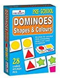 Creative Educational Pre-School Shapes and Colours Dominoes