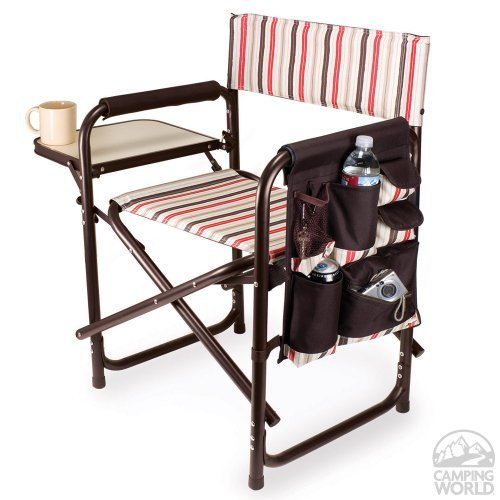 Picnic Time Sports Chair-Moka Collection