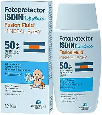 Fotoprotector ISDIN Fusion Fluid Mineral Baby SPF 50 | Formulado ...