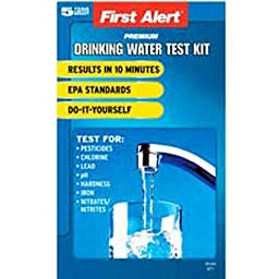 First Alert WT1 Drinking Water Test Kit by First Alert