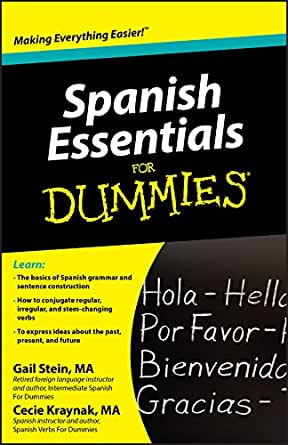 Spanish Essentials For Dummies Kindle Edition By Gail Stein Mary