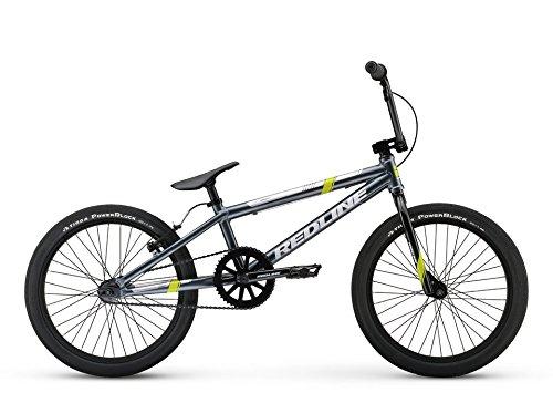 Redline MX20 20 Inch Wheel Kid's BMX Bicycle, Grey