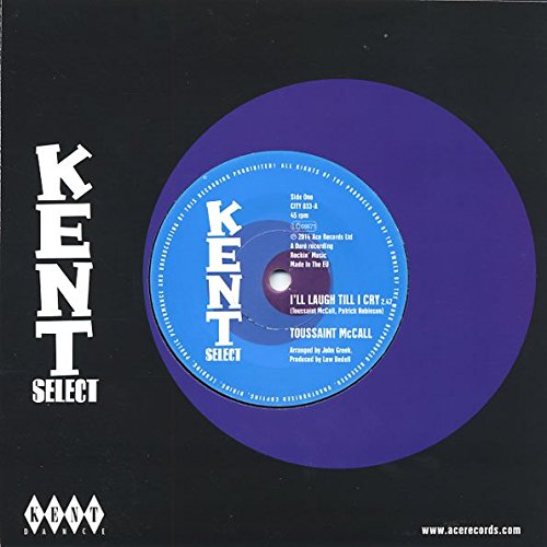 """Price comparison product image I'll Laugh Till I Cry - Toussaint McCall,  Natural Resources 7"""" 45"""