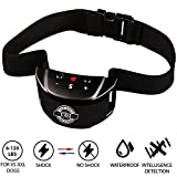 #8: [NEW 2018 VERSION] Bark Collar with UPGRADED Smart Chip - Best Intelligent Dog Shock, Beep Anti-Barking Collar. No Bark Control for Small/Medium/Large Dogs - Safe New