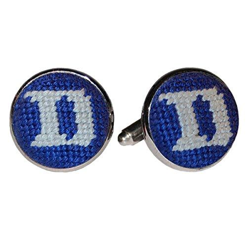 Smathers & Branson Duke University Blue Devils Needlepoint (Duke Blue Devils Cufflinks)