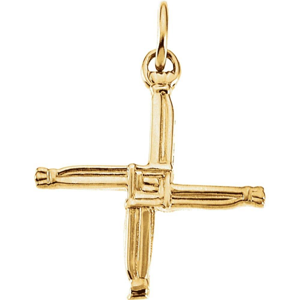 FB Jewels St Bridgets Cross Pendant