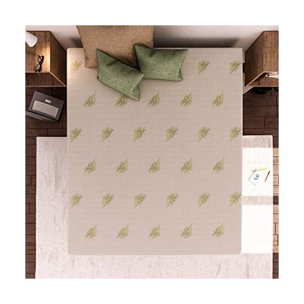 Baldiflex Materasso Matrimoniale, Molle Inasacchettate e Memory, Grigio, Premium Molle, Memory 5 cm, 11 Zone… 3 spesavip
