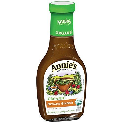 Annie's Naturals, Vinaigrette, Organic Sesame Ginger, 8 oz (Sesame Ginger Dressing)