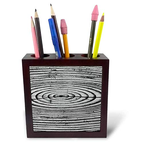 (3dRose Danita Delimont - Abstracts - Wood Grain Pattern. - 5 inch Tile Pen Holder (ph_314454_1))