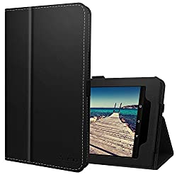 Ztotop Folio Case for All-New Fire HD 10 Tablet (2017 Release, 7th Generation) - Smart Cover Slim Folding Stand Case with Auto Wake / Sleep for All-New Fire HD 10 Tablet,black