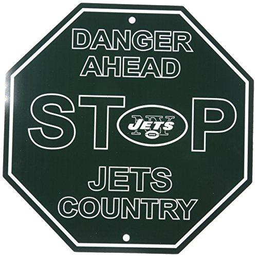 Jets Jersey New York (NFL New York Jets Stop Sign, 12