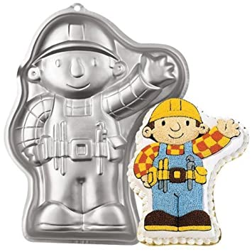 Wilton Bob the Builder Cake Pan 2105-5025, 2002