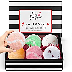 Bath Bombs Gift Set - Luxury Organic Bath Bombs For Girls and Women - Vegan Natural Gift Sets – US Made - La Bomba Set