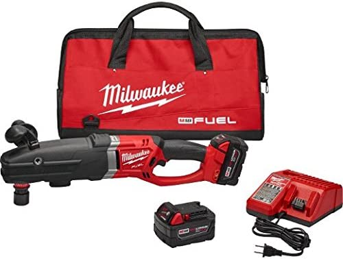 Milwaukee 2711-22HD M18 Fuel Super Hawg Right Angle Drill HD Kit w QUIK-LOK