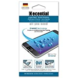 Liquid Glass Screen Protector - Easy to Install and Crystal Clear - [9H Hardness] and Scratch Resistant [Drop Protection] - Retail Packaging