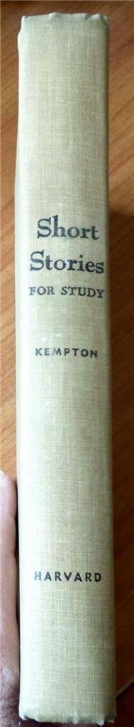 Short stories for study, Kempton, Kenneth
