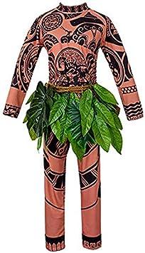 Joseph Dream Moana Maui Tattoo - Camisa/pantalón para Disfraz ...