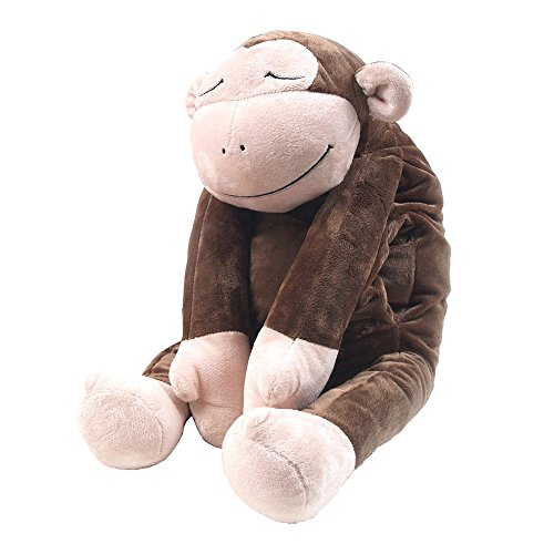 Snoooozy SHBPM-B Hug Body Pillow(Monkey_Brown) Citrus