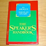 The Speaker's Handbook, Sprague, Jo and Stuart, Douglas, 0155831739
