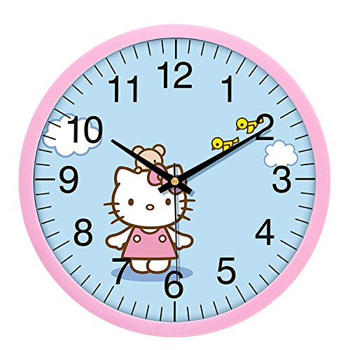 Hello Kitty Noiseless Wall Clock