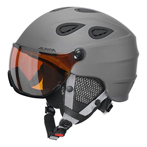 ALPINA Grap Visor HM Skihelm/Snowboardhelm mit Visier (9093 331) Gr. 57-61cm