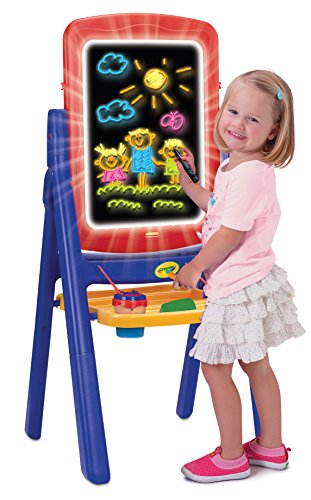 Crayola Qwikflip 2-Sided Glow Easel by Crayola
