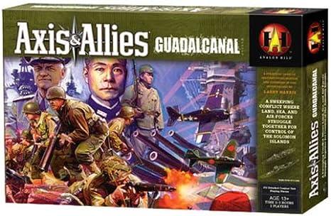 Juego Axis and Allies Guadalcanal en inglés: Amazon.es: Juguetes y juegos