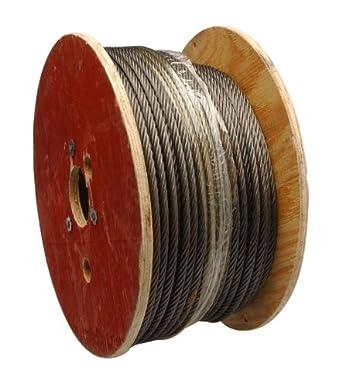 Steel Wire Rope, 6x19 Class Fiber Core