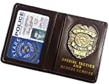 Resident Evil Biohazard S.T.A.R.S RPD Wallet Chris Redfield ID Holder | Leon Jill Wesker Cosplay