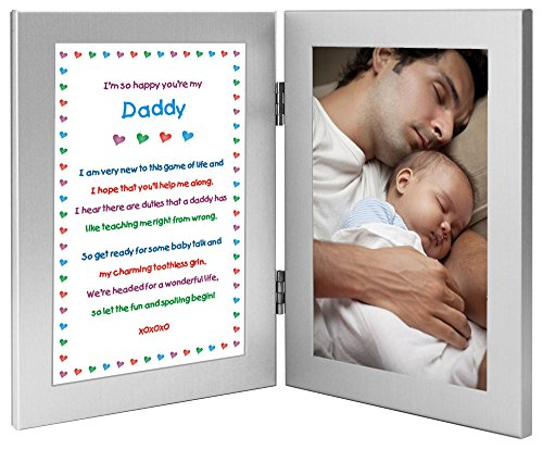 Daddy Newborn Sweet Double Frame product image